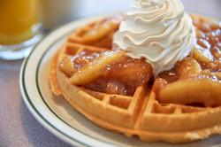 Apple Cin Waffle | Country Waffles