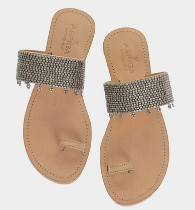 Aspiga Luna Silver Sandal