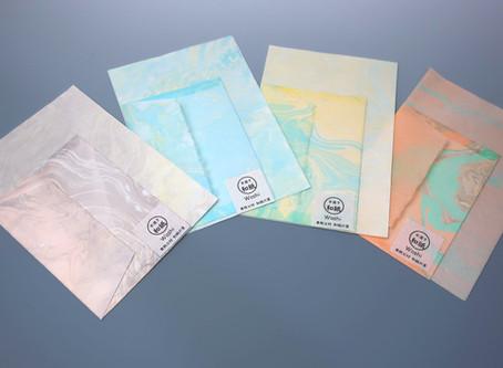 Handmade Marble Print Series