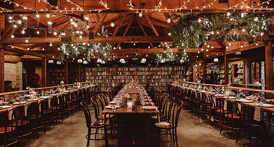 Bendooley Estate Book Barn Reception