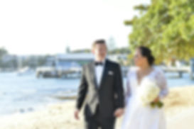Sydney Wedding Bride and Groom