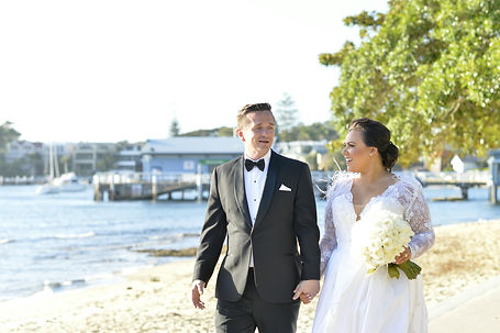 Sydney Harbour Wedding Bride and Groom