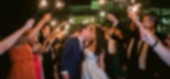 Wedding Sparkler Exit