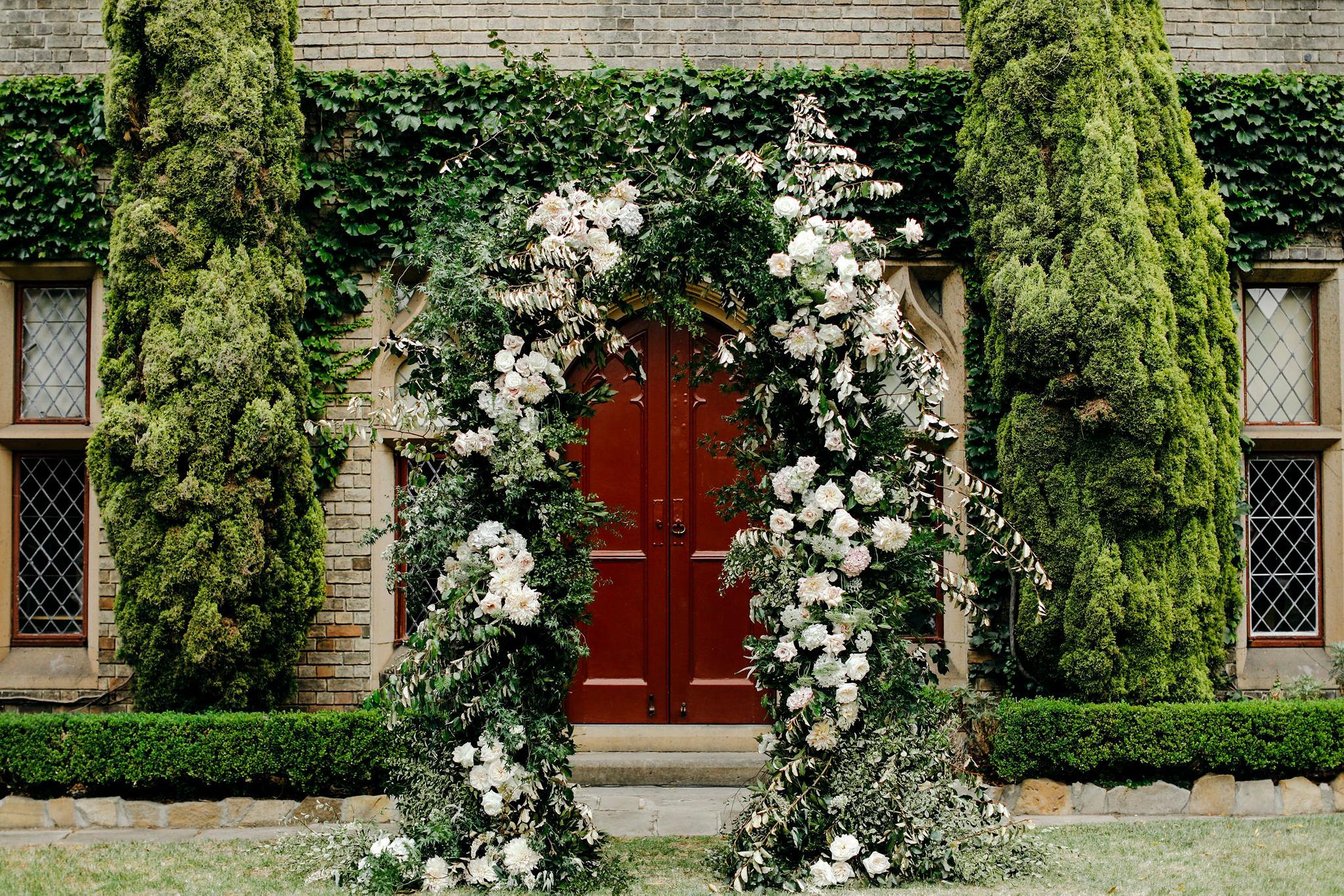 She Designs Ceremony Arch