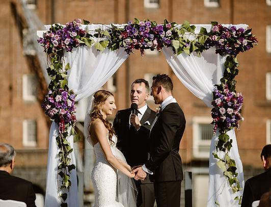 Scott The Celebrant Doltone House Wedding