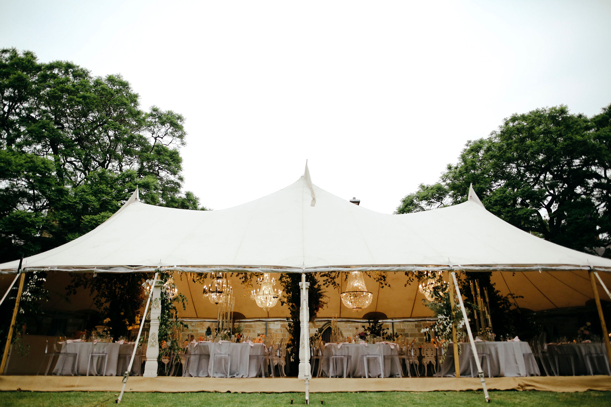 YES Sperry Tent Wedding