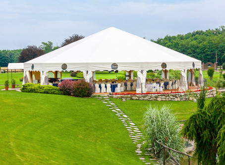 The Perks and Pitfalls of a Marquee Wedding