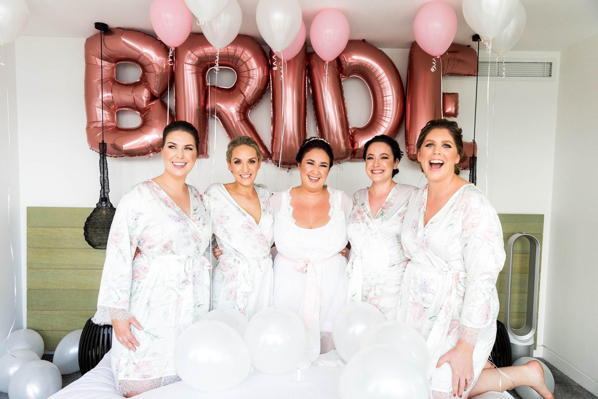 "A Bridal ""Party"""