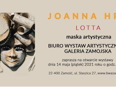 Lotta maska artystyczna - BWA w Zamościu