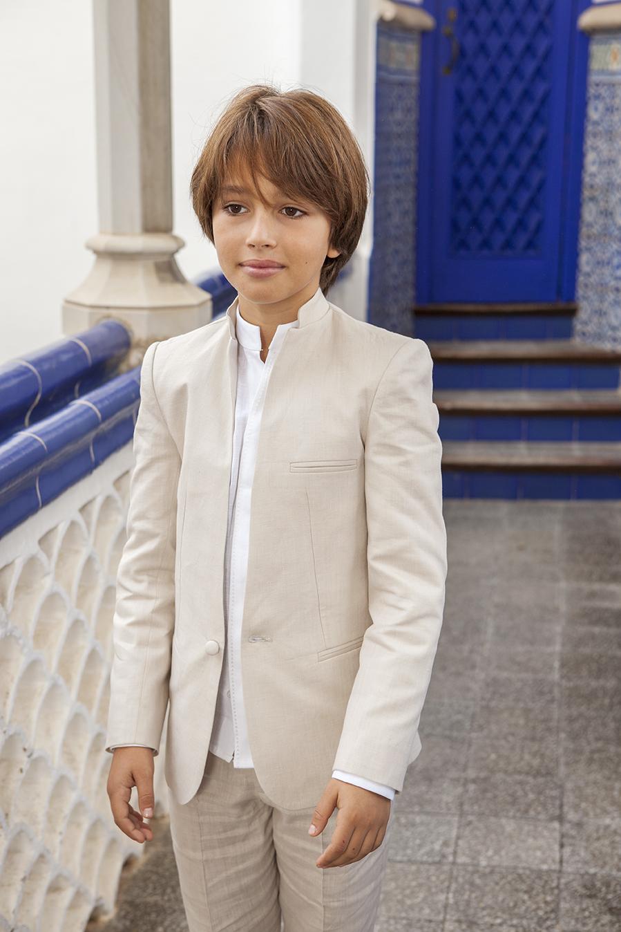 San Francisco calidad reloj Trajes Comunion niño lino Manuel Pardo Moda Masculina