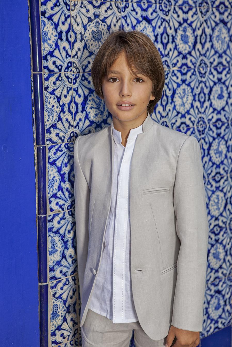 1d8747ca0 Trajes Comunion niño lino Manuel Pardo Moda Masculina