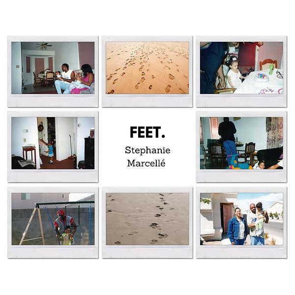 """Cover art for Stephanie Marcellé's song""""feet"""""""