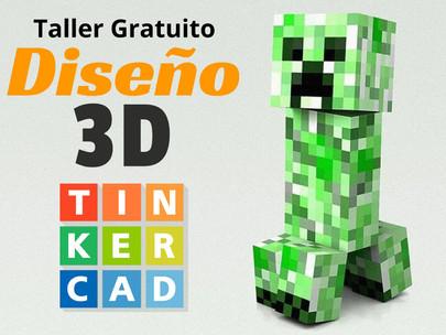 Crea un creeper en 3D con TinkerCAD