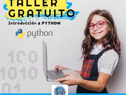 Taller gratuito: Primeros pasos con PYTHON