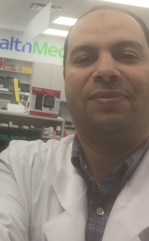 Helpful pharmacist at Alphamed Pharmacy