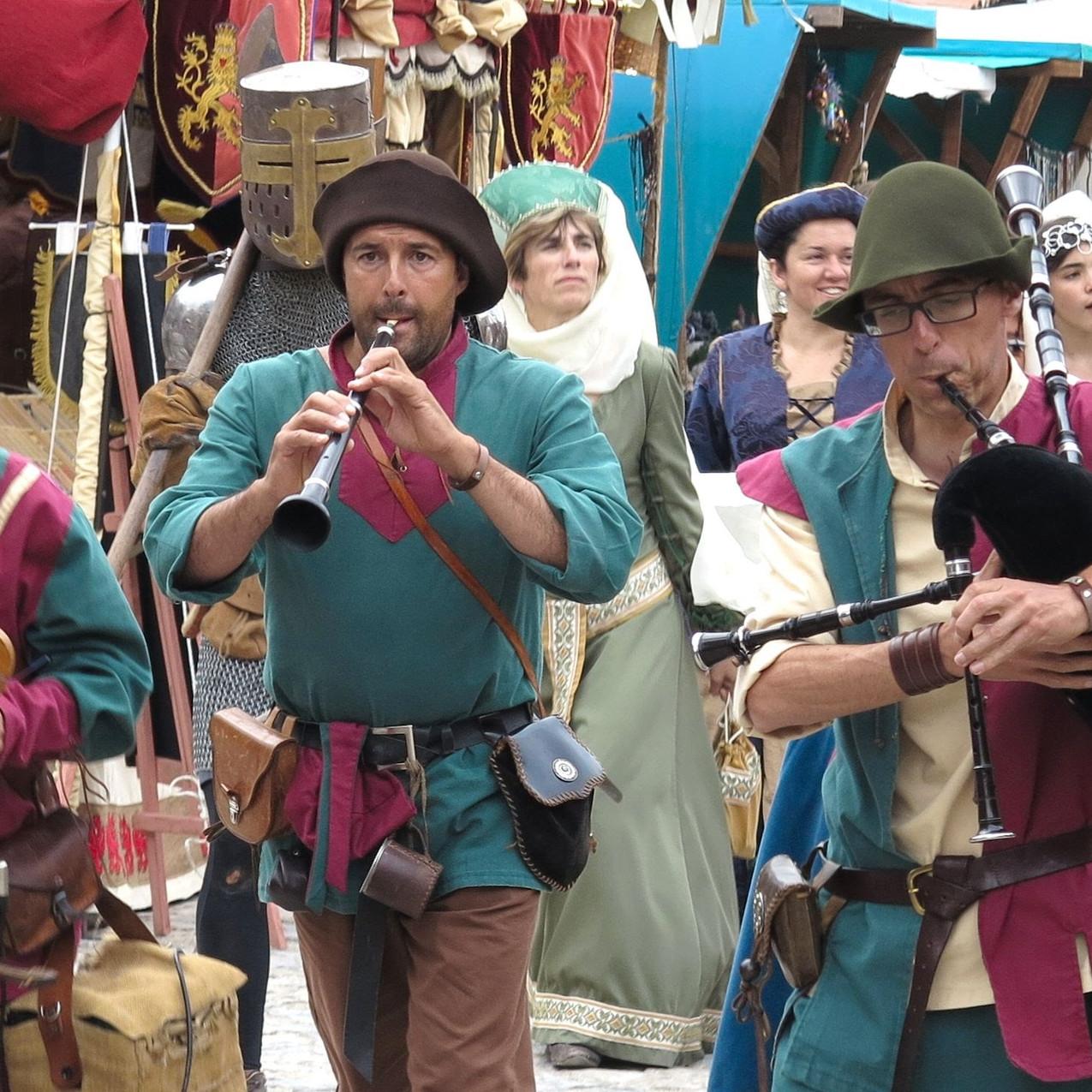 Medieval street parade in Obidos