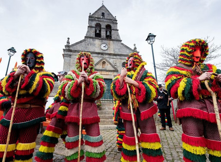 Carnival Traditions at Portugal with Celtic religous origins!