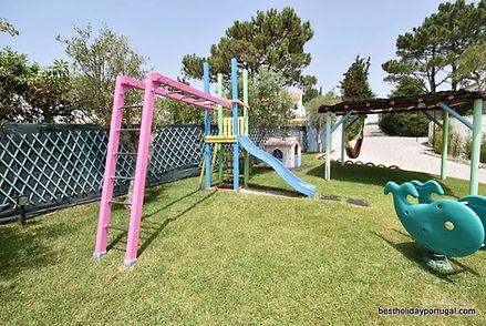 Playground equipment: child friendly villa holidays