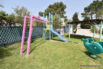 Playground equipment: child friendly villa holidays