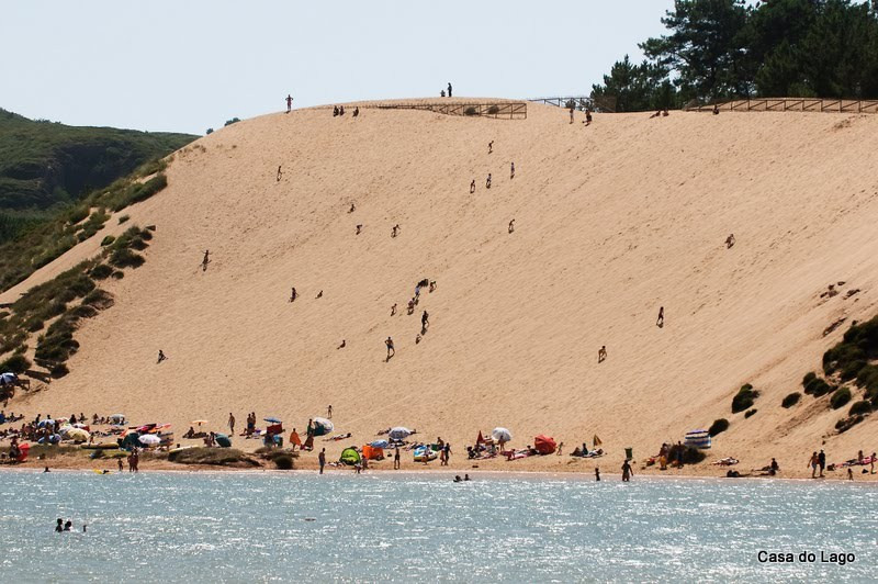 The big dune near Casa do Lago, Portugal