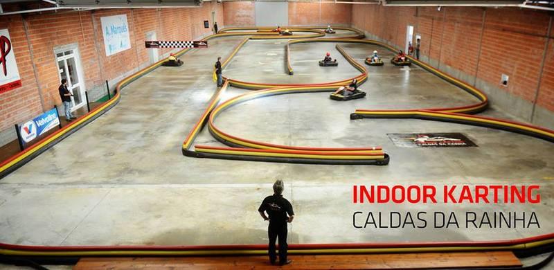 Indoor Karting facility, Silver Coast, Portugal