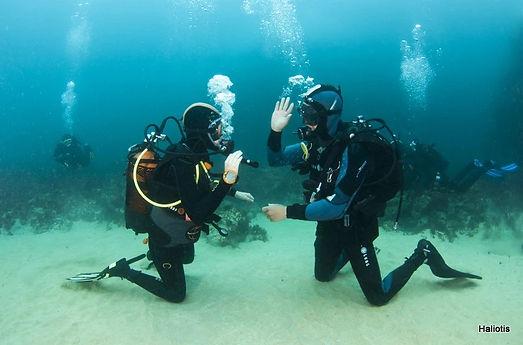 scuba diving school, Portugal