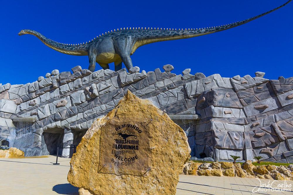 Dino Park entrance, Portugal family holidays