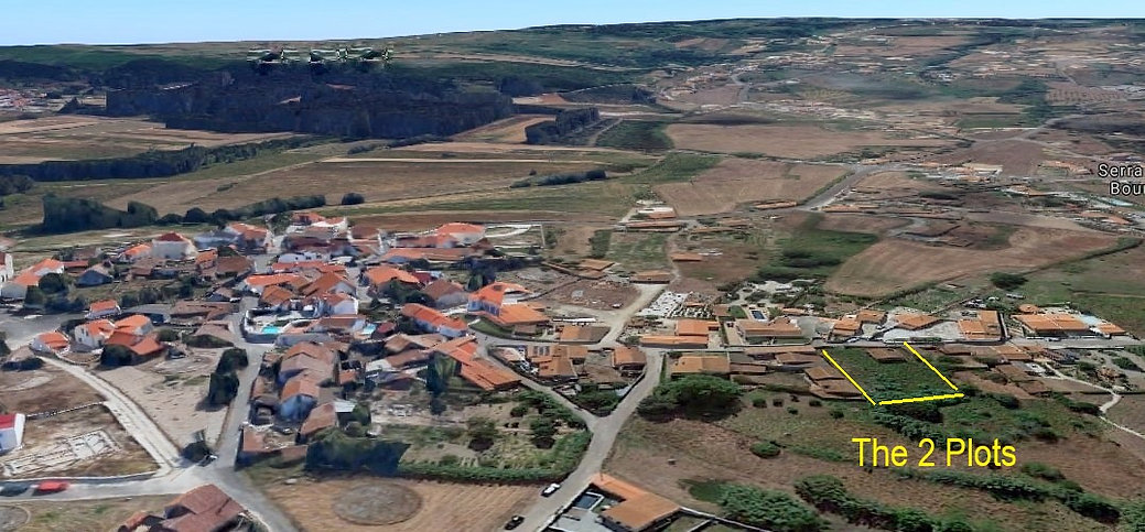 The tranquil village of Espinheira