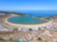 view of Sao Martinho do Porto, Silver Coast