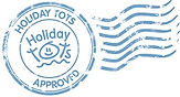 Holiday Tots Approved Badge