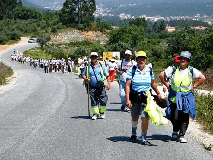 Walking pilgrimage to Fatima