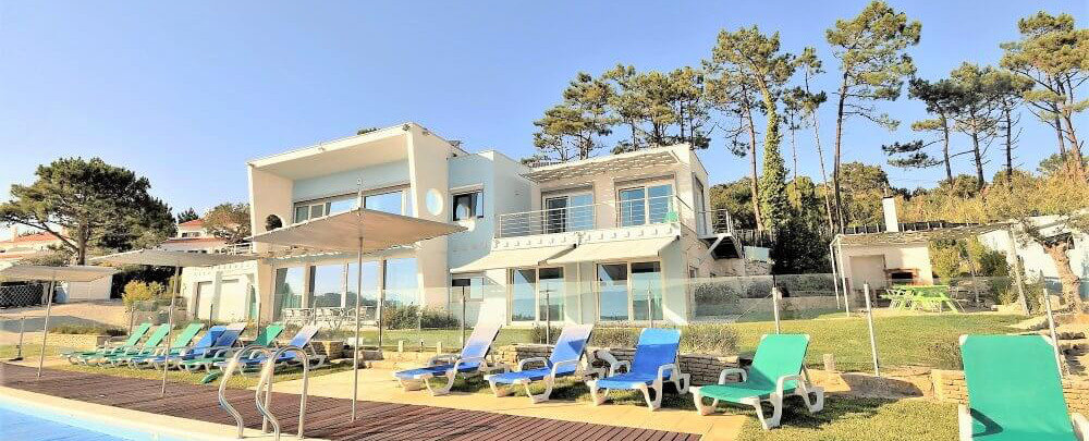 family villa with large pool and spacious gardens