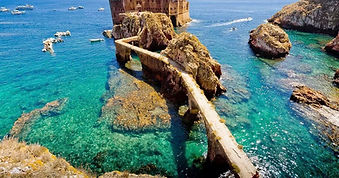 Berlengas natural reserve by UNESCO