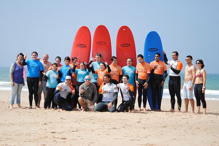 Stay at Casa do Lago to profit from the surf lessons and activity for disabled