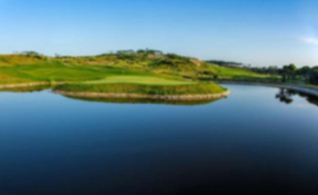 Pond at Royal Obidos prime golf, Portugal