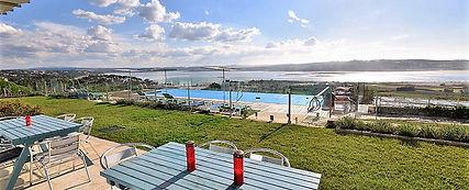 Relaxing terrace: family best villa holidays