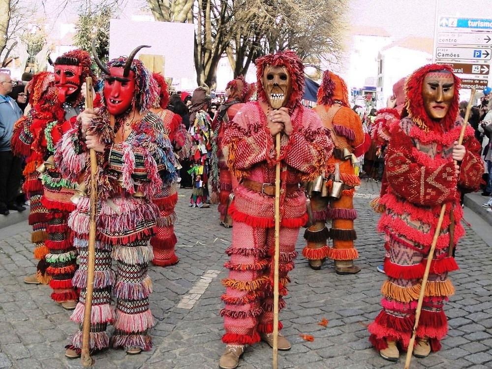 Traditional Carnival masquerades in Portugal
