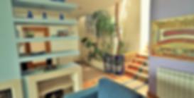 Living room detail in Casa do Lago