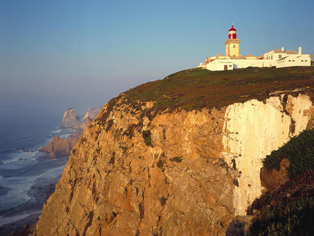 Cabo da Roca, the westernmost point of the European Continent, Portugal