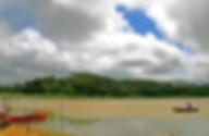 beautiful detail of the Obidos Lagoon