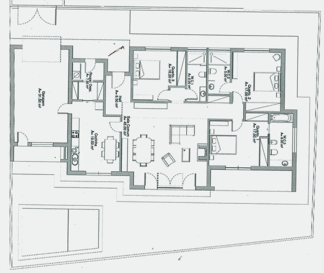 Plans of the villa