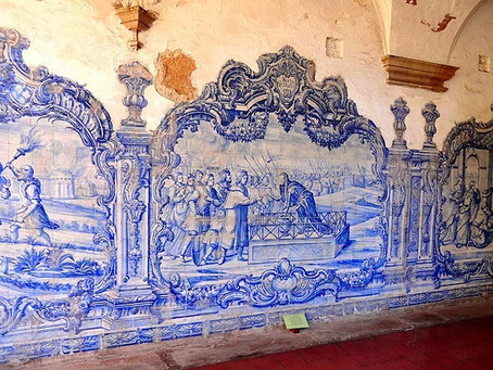 Handicraft Tiles, a Portuguese Tradition.
