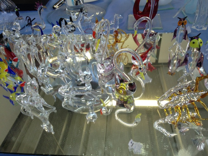 Handycrafts at the Glass Museum, Silver Coast, Portugal
