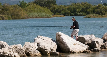 Fishing in the Obidos lagoon