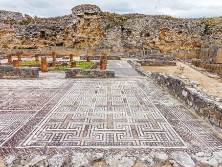 Conimbriga, the most important excavated Roman city in Portugal.