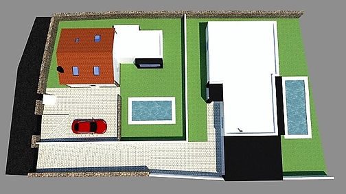 Project of the two villas