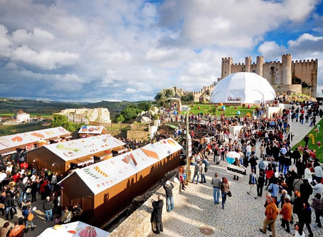 Sweet teeth shall not to miss: The chocolate festival at Obidos, Portugal