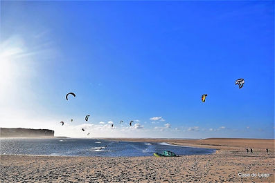 Kite Surf, Foz do Arelho, Portugal