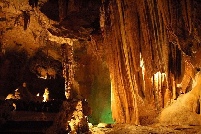 The Caves in Mira de Aire