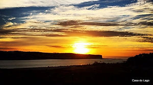 Sunset at Portugal holidays; Silver Coast